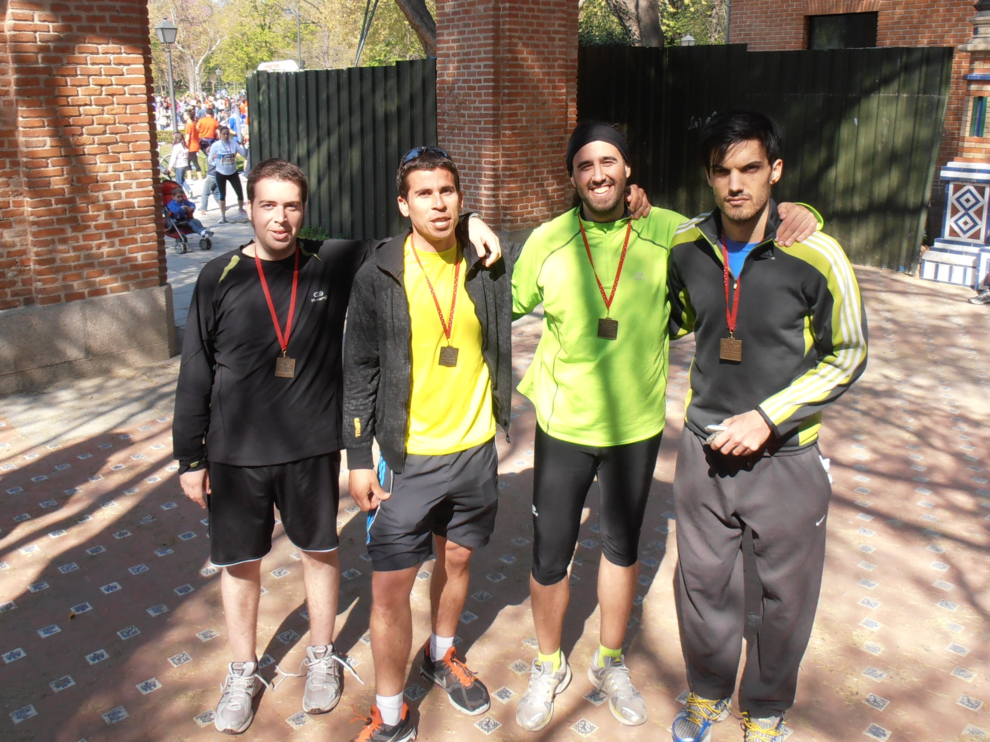 Kinball En La Media Maraton de Madrid