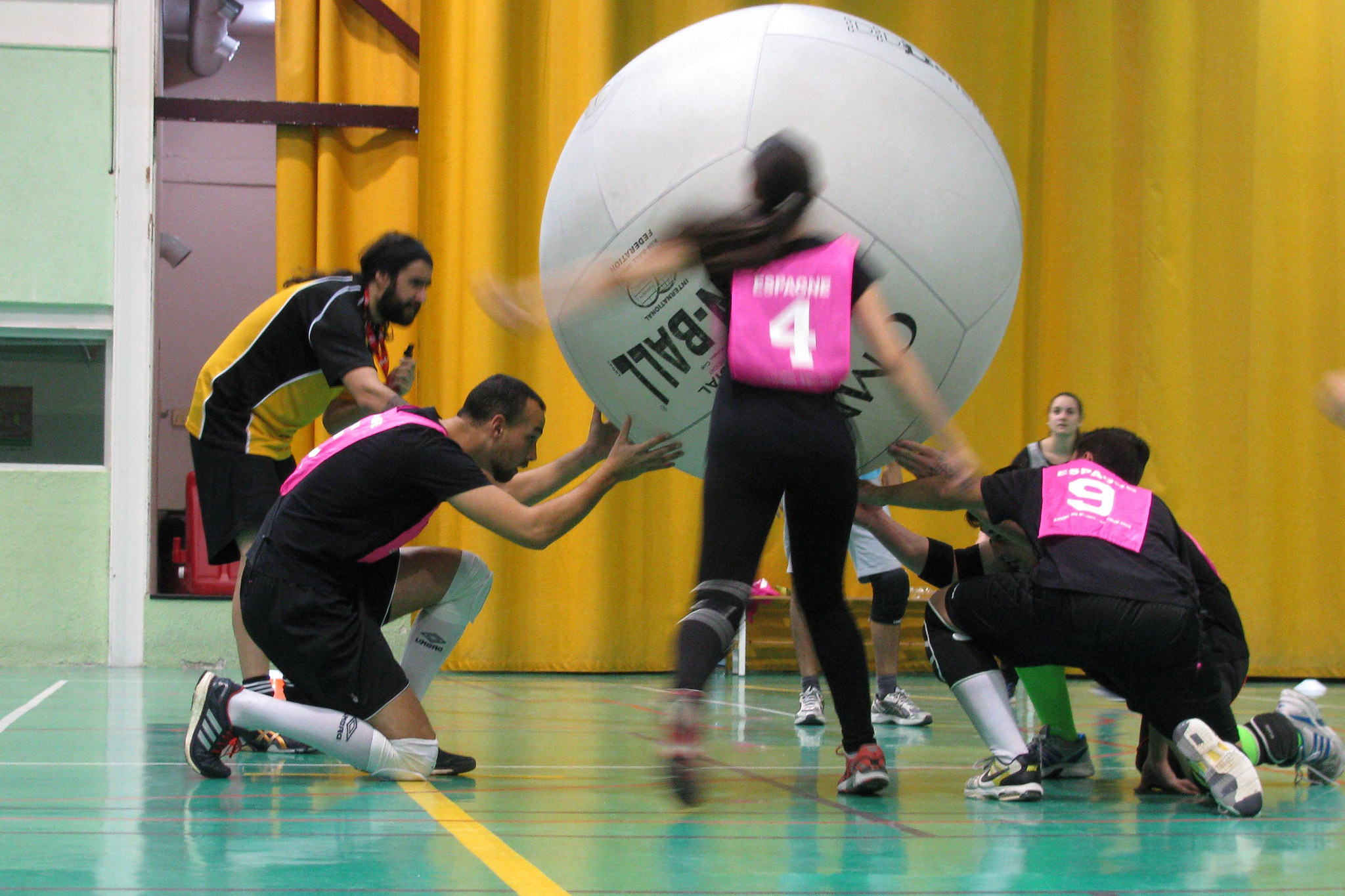 KIN-BALL en Madrid (1)