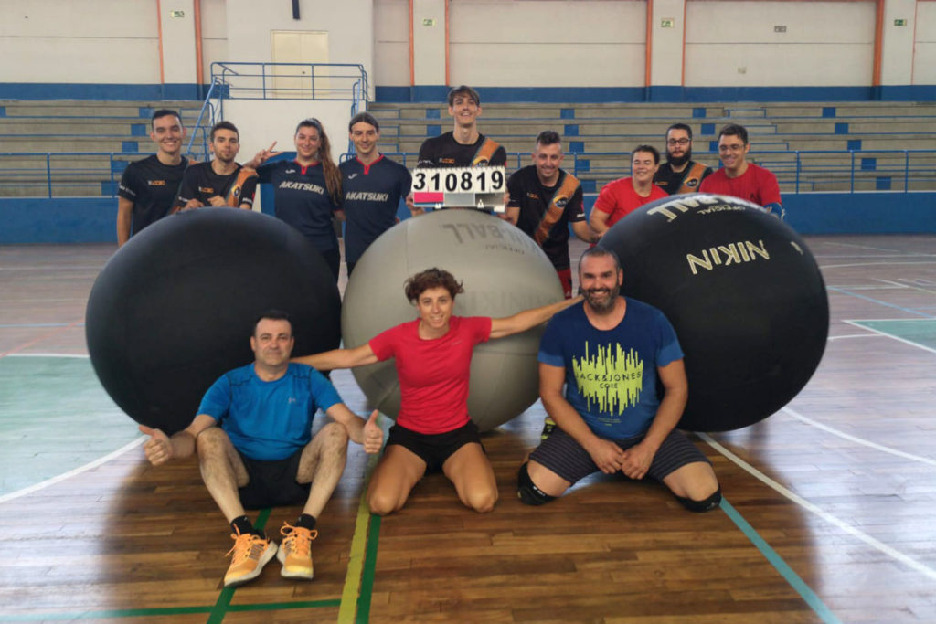 Jugamos al KIN-BALL en Madrid. ¿Te animas?