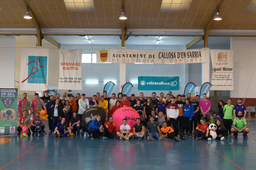 Jugamos al KIN-BALL en Madrid